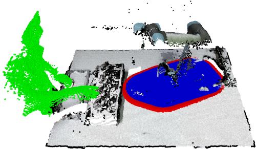Depth-sensor Safety Model for HRC