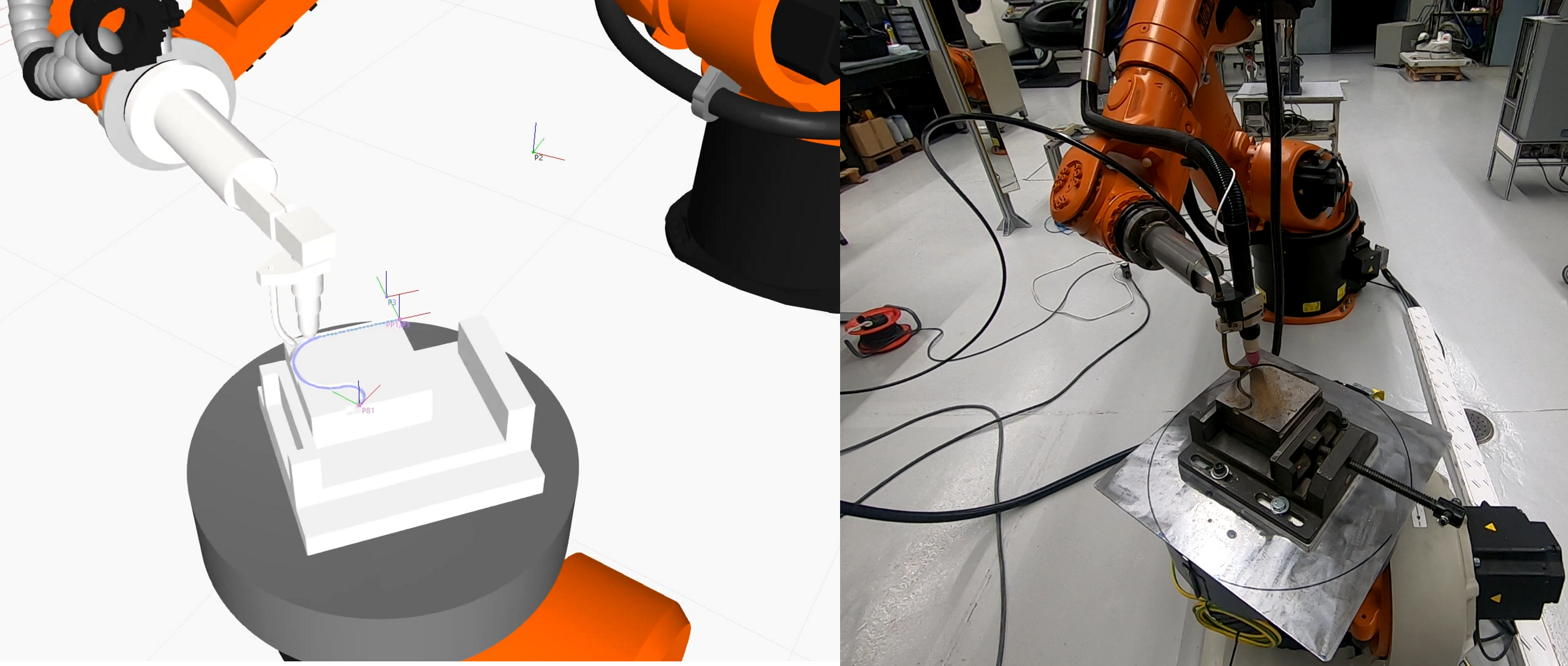 Simulation welding