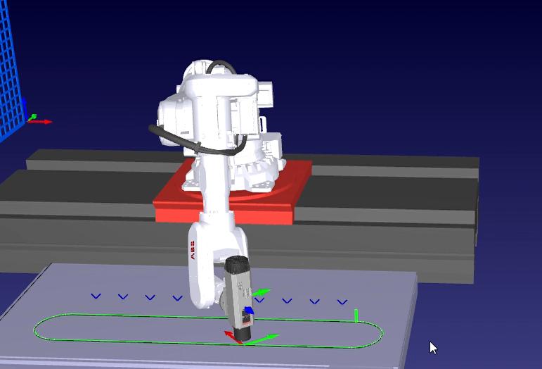 Robot trajectory generation based on digital design content