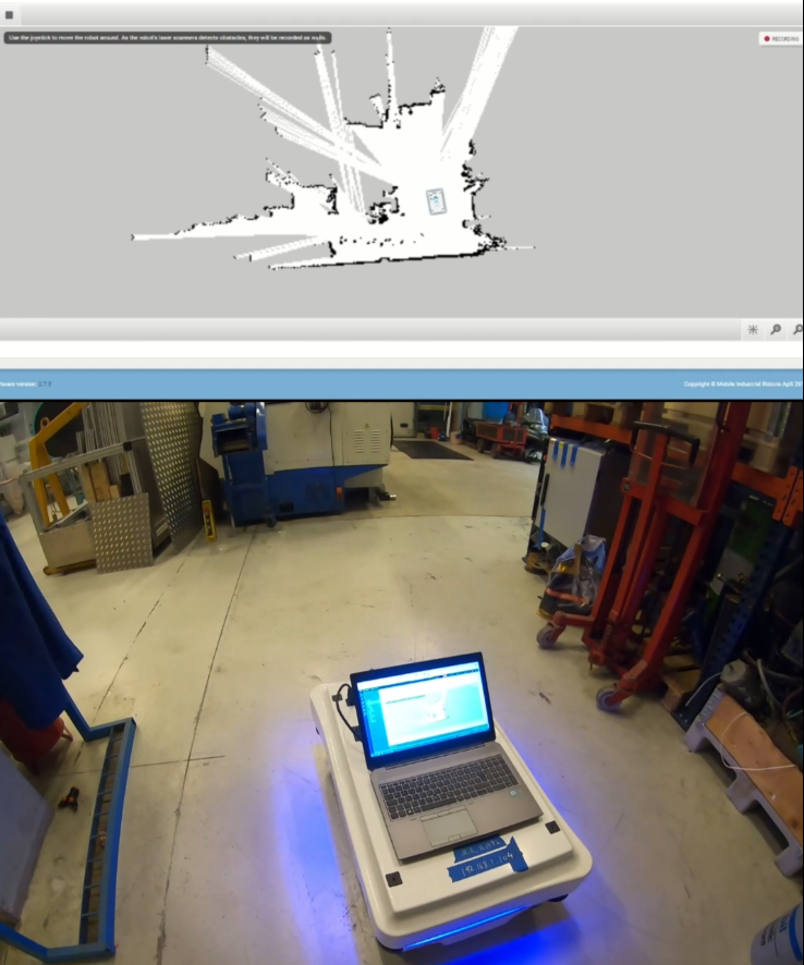Rapid Mapping Of A Production System In A Virtual Environment