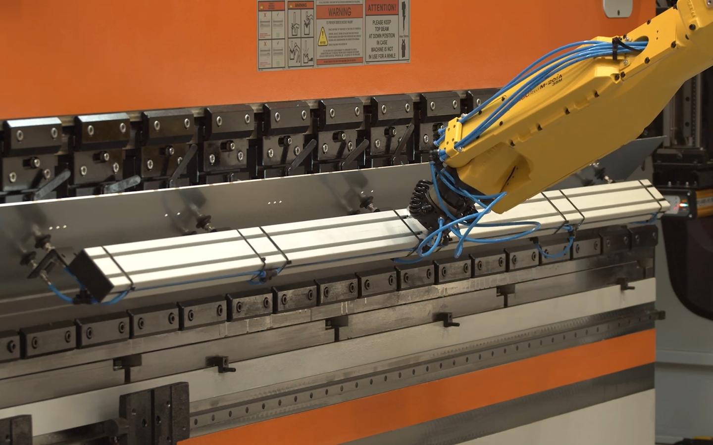 The bending process at the press brake